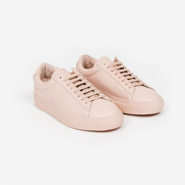 Zespa ZSP4 Leather Sneaker in Nude