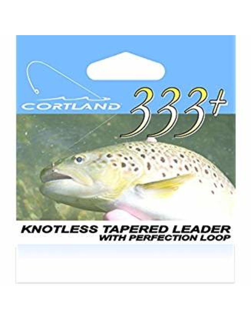 Cortland 333 Classic Tapered Leader 9ft 6x