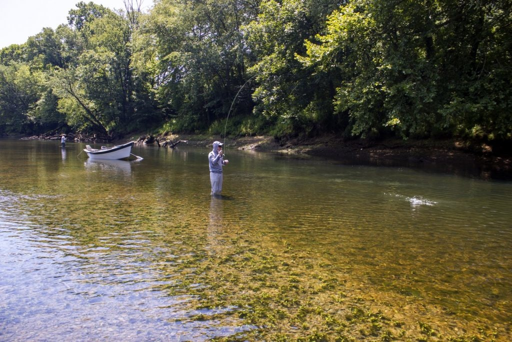 Fishing the Caney Fork