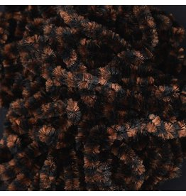 HARELINE FLY FISH FOOD SMALL STONEFLY CHENILLE #2 BLACK BROWN