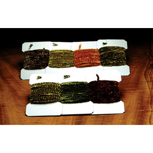 VARIEGATED CHENILLE LIGHT OLIVE/BROWN