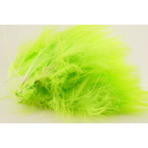 WOOLY BUGGER MARABOU #127 FL. CHARTREUSE