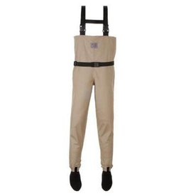 CHOTA ROCKY RIVER SOCK FOOT WADERS-LARGE-SAND