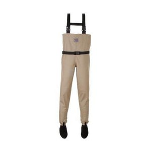 CHOTA ROCKY RIVER SOCK FOOT WADERS-MEDIUM-SAND