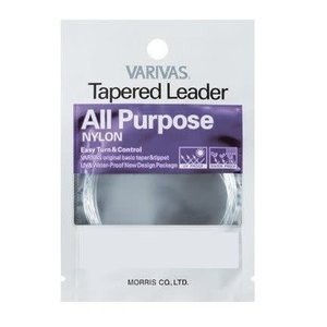 VARIVAS ALL PURPOSE TAPERED LEADER-4X-7.5FT