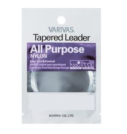 VARIVAS ALL PURPOSE TAPERED LEADER-5X-7.5FT