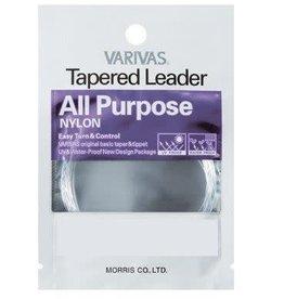 VARIVAS ALL PURPOSE TAPERED LEADER-6X-7.5FT