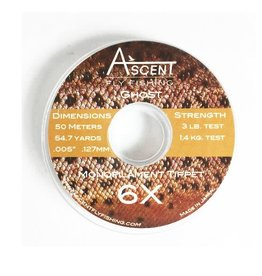 Ascent Ghost Mono Tippet 6X