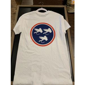 TN FLY CO POCKET TEE SHIRT-WHITE-2XL