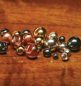 Tungsten Slotted Black Nickel Beads 2.0mm