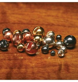 Tungsten Slotted Gold Beads 3.8mm