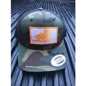 TN FLY CO THE DAVY PATCH MULTICAMO TRUCKER HAT