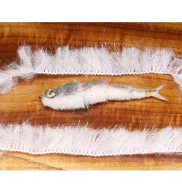 Hareline Dubbin Minnow Body Wrap 284 Pearl White