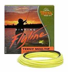 Teeny Wight Forward Mini Tip Fly Line-Yellow/Black-#8