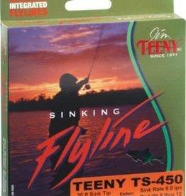 Teeny TS-350 Sinking Line-Goldenrod/Black-#8-10