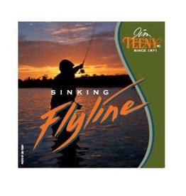 Teeny T-300 Sinking Line-Orange/Black-#7-10