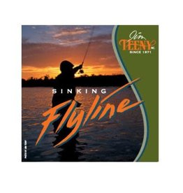 Teeny T-300 Sinking Line-Orange/Black-#7-10