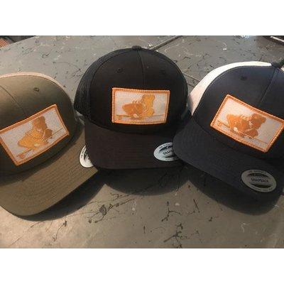 TN FLY CO Davy Patch Trucker Hat
