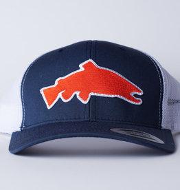 TN FLY CO Trout South Trucker Hat