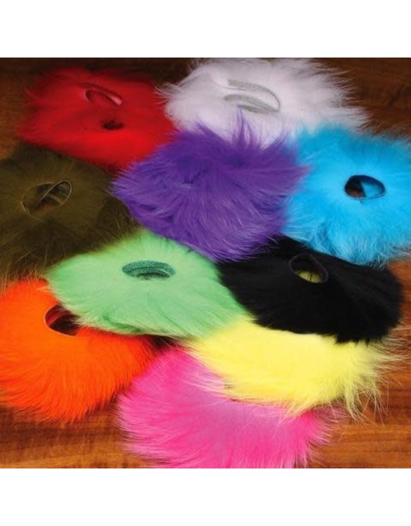 Fly Tying Hareline Arctic Fox Tail Hair Red