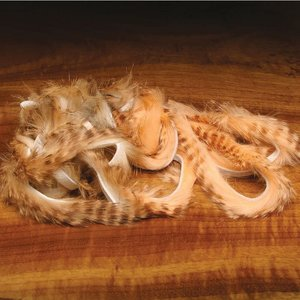 Hareline Dubbin Brown Barred Rabbit Strips