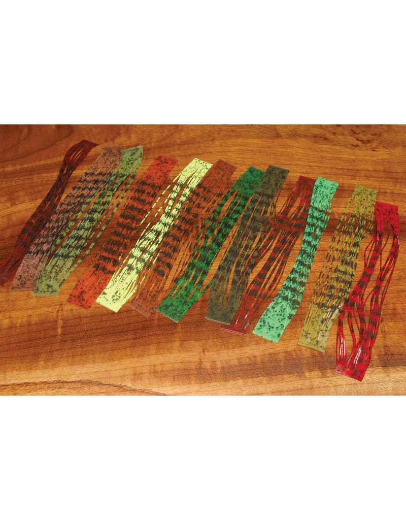 Hareline Dubbin Barred & Speckled Crazy legs