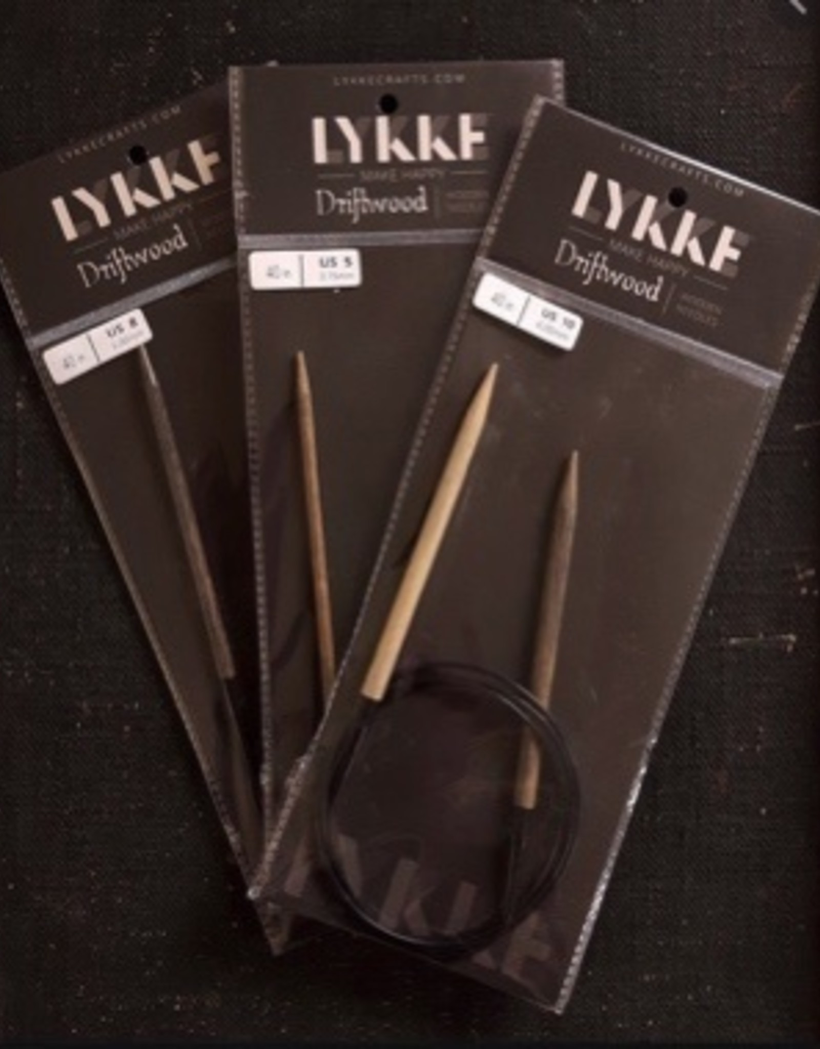 "Lykke Lykke Driftwood 16"" Circular Needles"