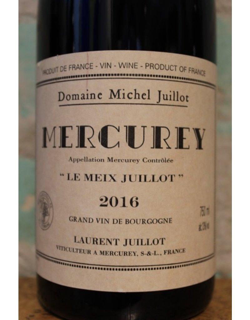 """DOMAINE MICHEL JUILLOT MERCUREY ROUGE """"LE MEIX JUILLOT"""""""