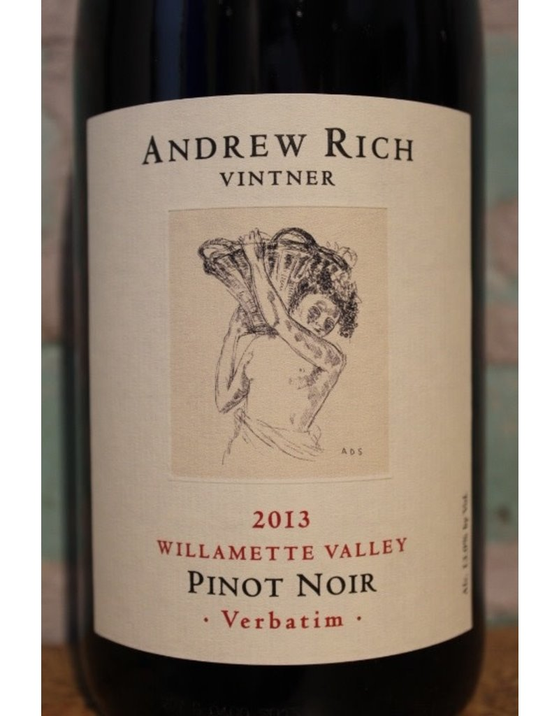 ANDREW RICH WINES VERBATIM PINOT NOIR