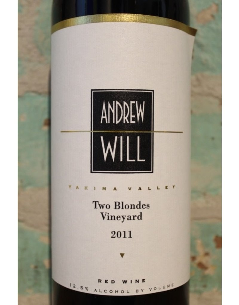 ANDREW WILL TWO BLONDES VINEYARD RED WINE