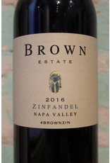 BROWN ESTATE VINEYARDS NAPA VALLEY ZINFANDEL