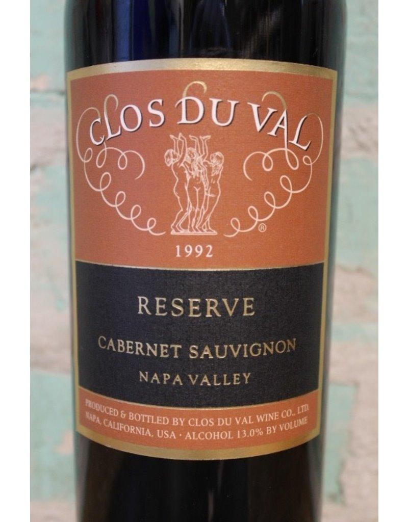 CLOS DU VAL RESERVE CABERNET NAPA VALLEY 1992