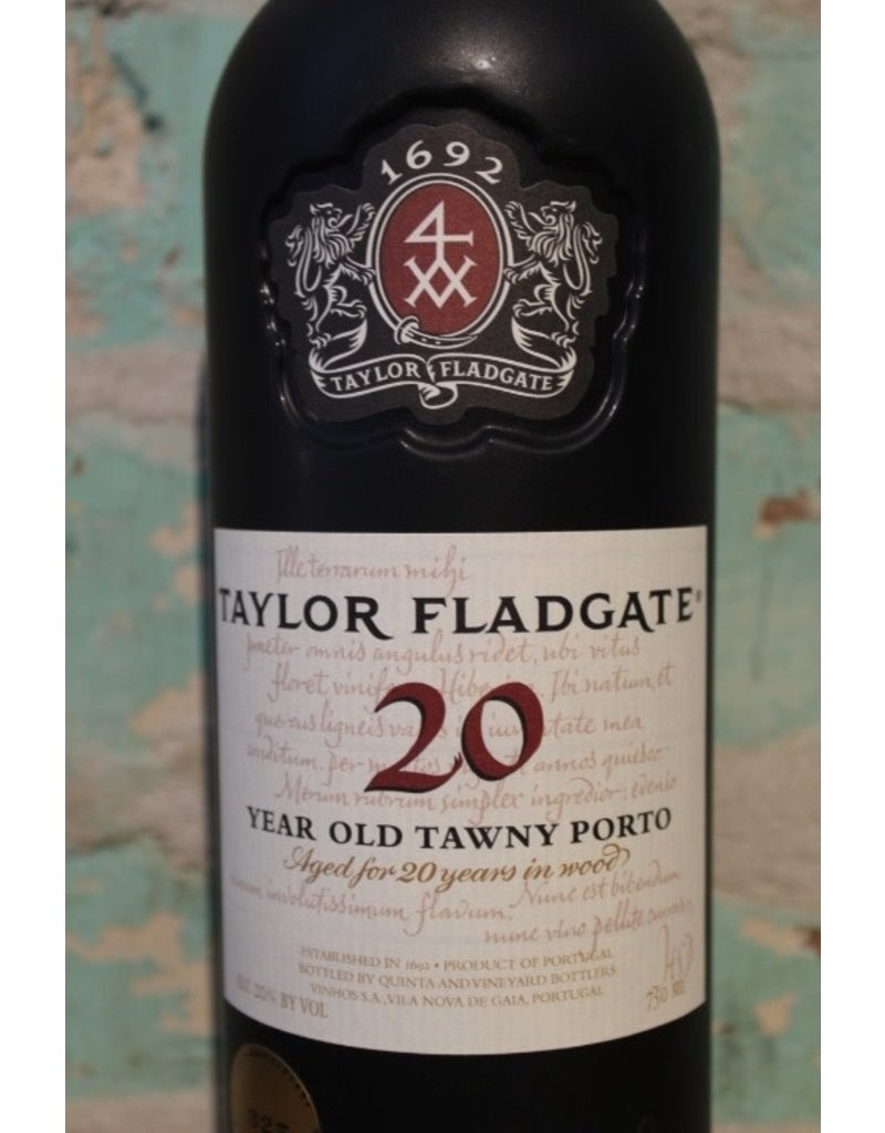 TAYLOR FLADGATE TAWNY PORT 20 YEAR