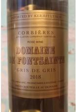 CORBIÈRES DOMAINE DE FONTSAINTE GRIS DE GRIS ROSÉ