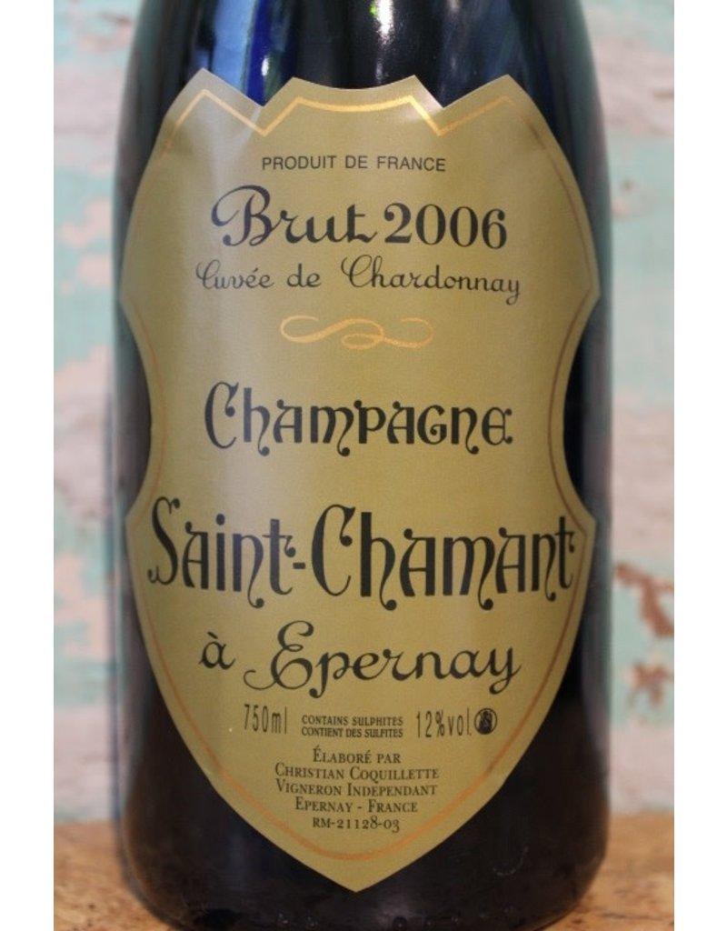 SAINT-CHAMANT À EPERNAY CUVÉE DE CHARDONNAY