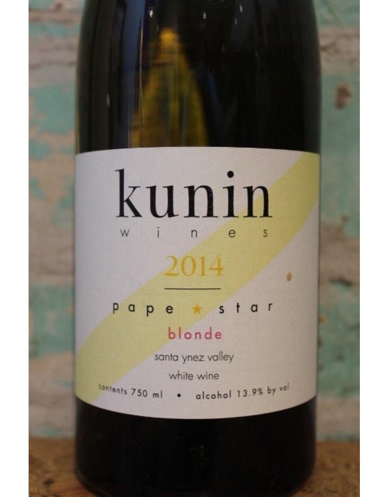 KUNIN PAPE STAR BLONDE RHONE BLEND