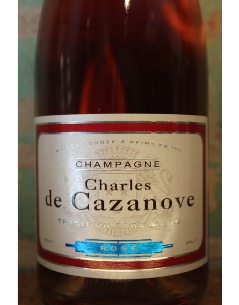 CHARLES DE CAZANOVE BRUT ROSÉ