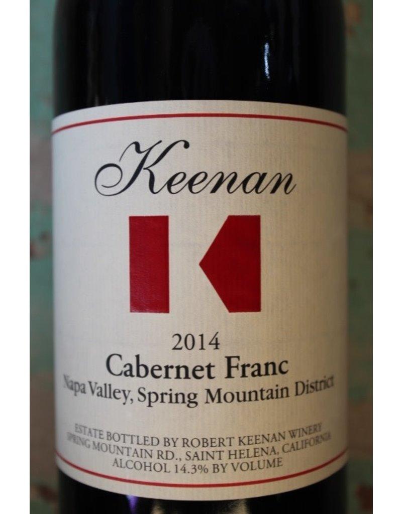 KEENAN CABERNET FRANC SPRING MOUNTAIN DISTRICT