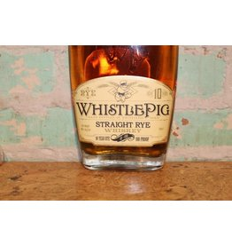 WHISTLE PIG STRAIGHT RYE WHISKEY 10 YEAR