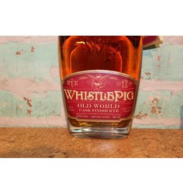 WHISTLE PIG  RYE 12 YEAR