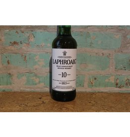 LAPHROAIG ISLAY SINGLE MALT SCOTCH WHISKEY 10 YEAR OLD
