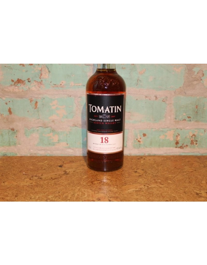 TOMATIN 18 YEAR OLD SCOTCH WHISKEY