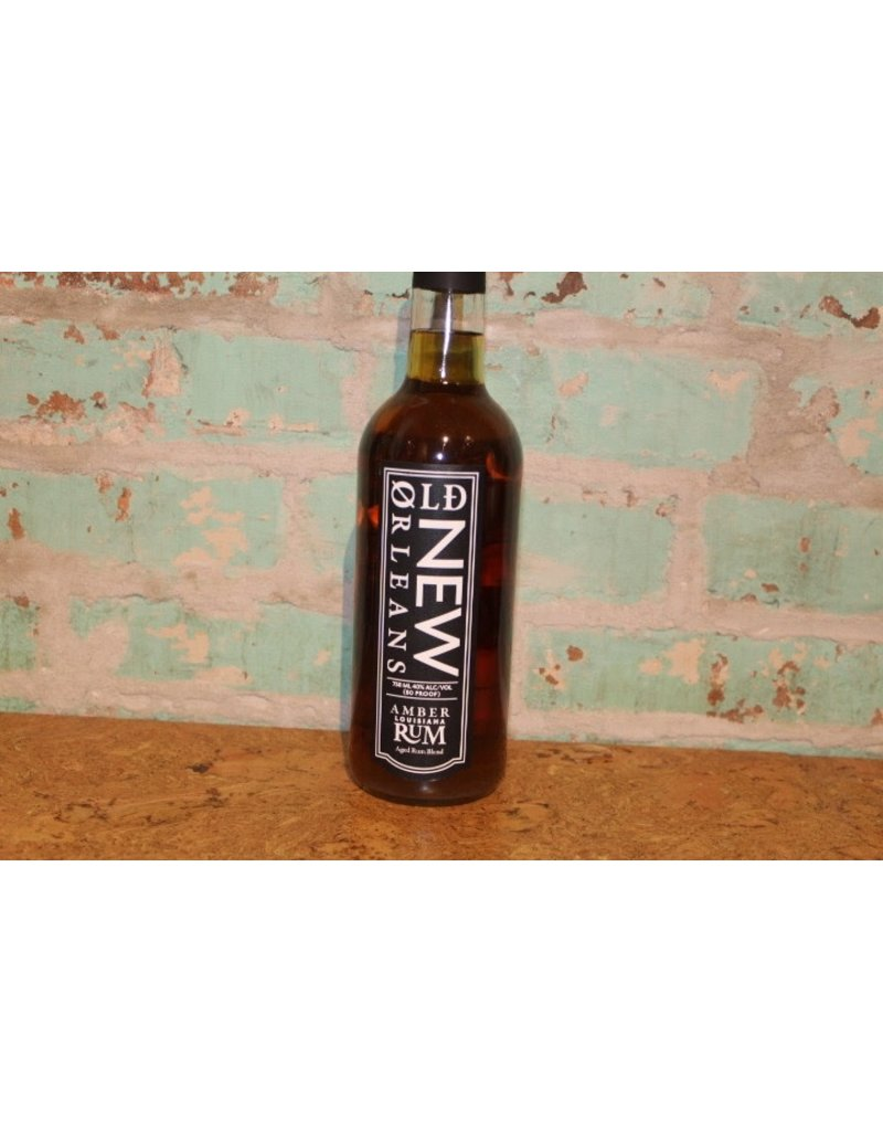 OLD NEW ORLEANS RUM AMBER