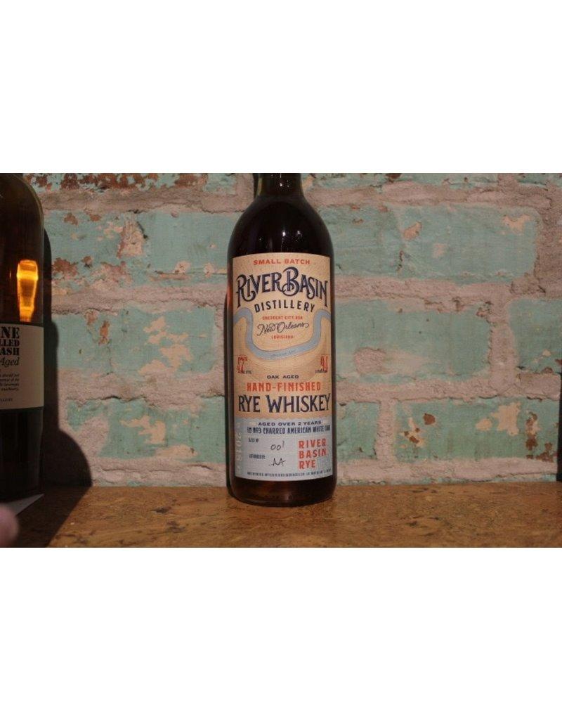River Basin Hand Finished Rye Whiskey