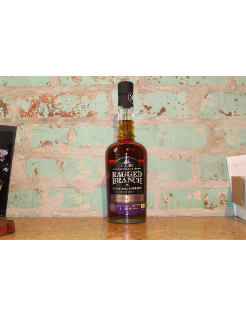 RAGGED BRANCH LOUISIANA RESERVE SIGNATURE BOURBON