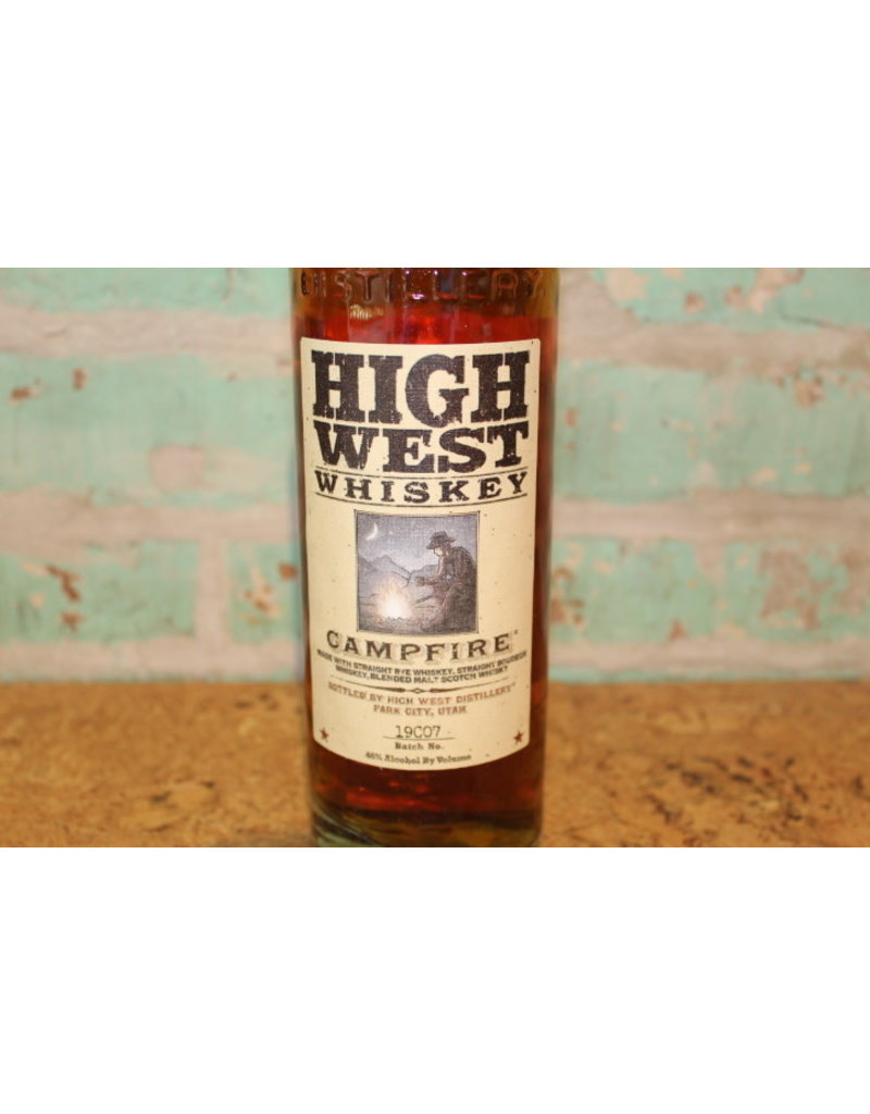 HIGH WEST CAMPFIRE  RYE WHISKEY