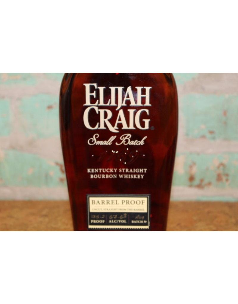 ELIJAH CRAIG SMALL BATCH BARREL PROOF BOURBON WHISKEY 135.2