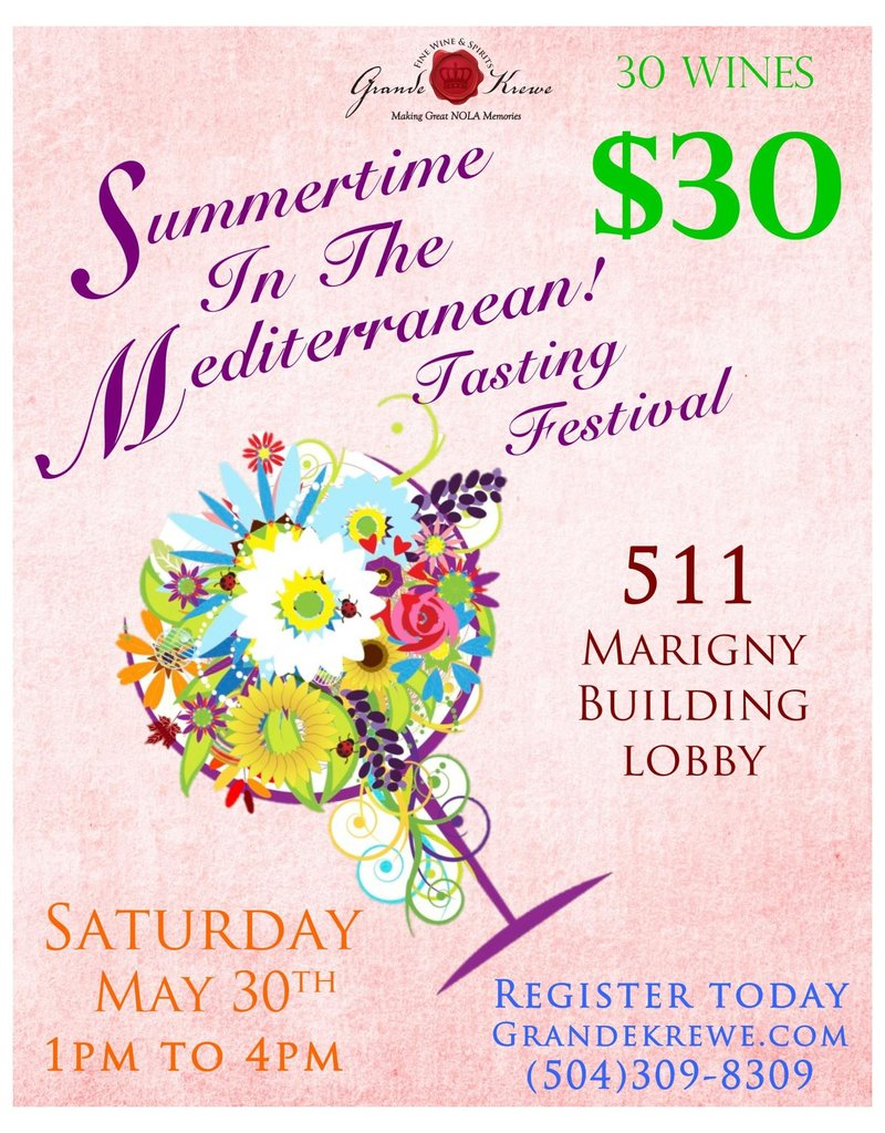 MEDITERRANEAN FESTIVAL MAY 30th