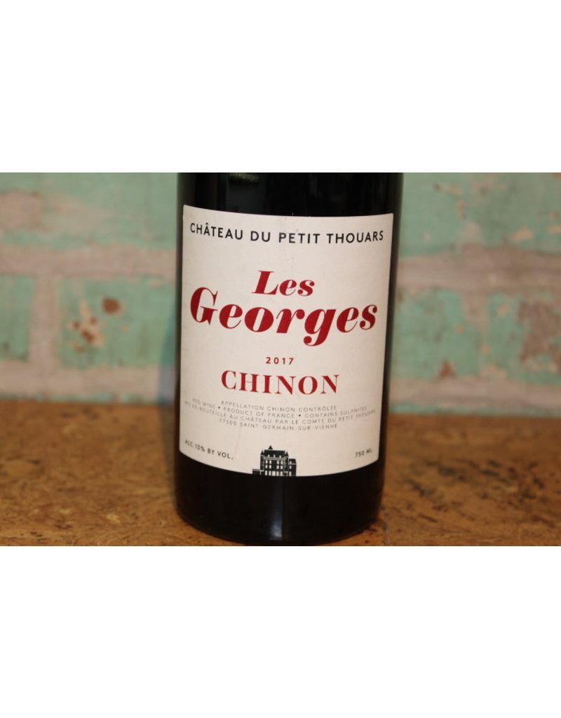 CHATEAU DU PETIT THOUARS LES GEORGES CHINON ROUGE