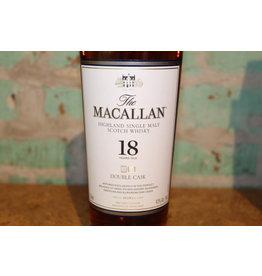 MACALLAN DOUBLE CASK 18 YEAR